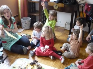 workshops in mother tongues for bilingual children
