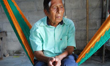 Manuel Segovia photographié par Jaime Avalos (EPA)